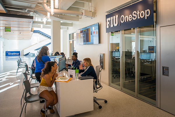 Students can visit the OneStop office for university financial information